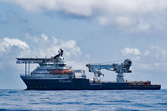 Rem Forza (SPMac) Tags: africa sea field construction ship crane offshore vessel gas ghana forza ten oil service rem hanger ssv supply maersk subsea helideck