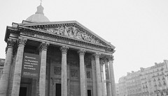 Panthon B&W - Paris, France (The Web Ninja) Tags: travel bw white black paris france travelling architecture canon photography photo europe exploring pantheon eu explore traveling panthon travelphotography 70d explored canon70d