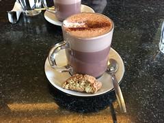 Coffee and biscotti (ilamya) Tags: coffee copenhagen denmark cookie kbenhavn biscotti
