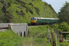 D6515 Corfe Castle (daveymills31294) Tags: castle diesel 33 railway class 330 corfe gala swanage 2016 33012 d6515