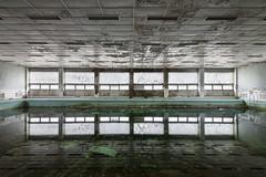 Doppelgnger (www.nicolabertellotti.com) Tags: abandoned pool sport swimming decay piscina forgotten urbex abbandono abbandonato decadenza abbandonata