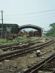Taiwan - Xinying - Sugar Rail (railasia) Tags: shed taiwan infra nineties locomotives tsc 762mm dualgauge xinying industrialnarrowgauge