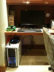 The Battlestation (Dranzogger) Tags: me many cords help drowning sadface battlestation razerorcas