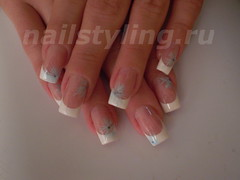 french manicure (nailstyling.ru) Tags: art french nail manicure