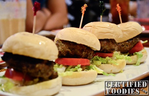 T.G.I. Friday's Burger Sliders - CertifiedFoodies.com
