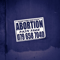 Pain free abortion