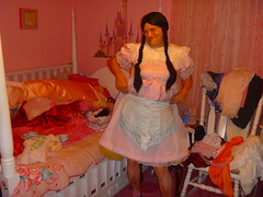You have seen me in these! (Petticoat Brenda) Tags: pink cute panties princess cd laundry sissy crossdress showoff petticoat maryjaneshoes