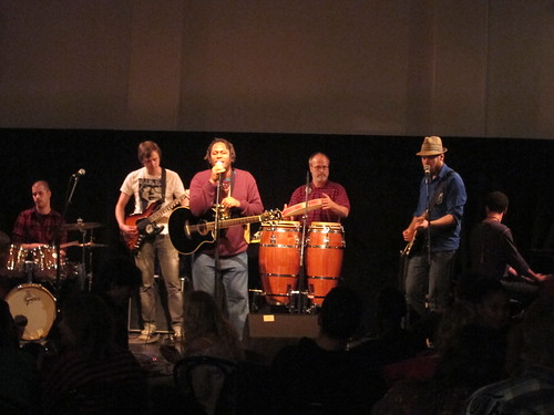 Sheldon Blackman and the Soul Rebels @ Open Xpressions 9th Nov 2011