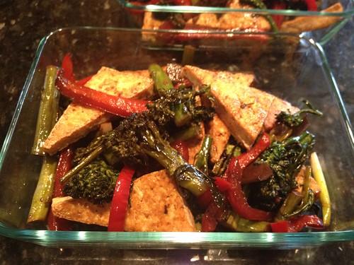 Szechwan Veggies & Tofu