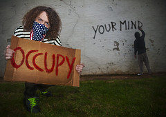 occupy your mind (alex.calder.1) Tags: 99 downtownsacramento usaflag sacramentocalifornia occupy yourmind occupyyourmind alexcalderphotographer occupywallstreet occupymovement