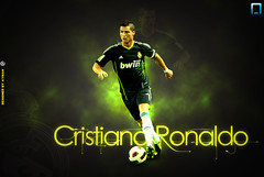 cristiano ronaldo (ayman_ay17) Tags: madrid green by photoshop logo real design graphic ronaldo cristiano ayman designed wallpeper cs5