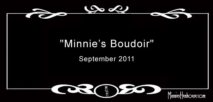 Album Cover | Minnie's Boudoir