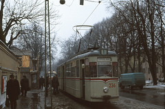 Tallinn 236 Kadriorg 1978 (Guy Arab UF) Tags: tallinn estonia g4 tram gotha trams tramway articulated ussr 236 4wheel kadriorg
