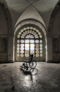 The abandoned wheelchair
