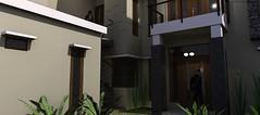 Desain rumah modern minimalis di daerah Rawamangun5 (rumahdesain2000) Tags: jakarta minimalis elegan mushola batualam preliminarydesign rumahibadah 2lantai projectlists