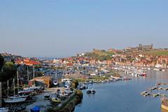 DSC_0173 - Whitby (SWJuk) Tags: uk england coast seaside nikon holidays harbour yorkshire cleveland estuary whitby northyorkshire 2011 riveresk clevelandway d40 nikond40 myfreecopyright swjuk mygearandme mygearandmepremium sep2011