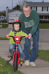 Bike Ride With Uncle Paul (Craig Dyni) Tags: birthday boy colin finn greatuncle greatnephew dyni