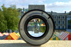 Through The Lens (Spencer Purkiss) Tags: old city light color colour castle heritage history glass lens focus colorful heart upsidedown market bokeh norfolk angles convex outoffocus historic magnifyingglass 100views norwich through colourful transparent inverted hdr highdynamicrange stalls alternative magnify invert throughthelookingglass runnerup throughtheglass localhistory throughglass norwichcastle 3xp throughthelens alternativeangles 3exposures maginfying photographycompetition