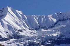 Snow, Ice, and Peaks (DJ Greer) Tags: travel nepal mountain snow trekking trek walking landscape hiking walk peak hike glacier explore himalaya annapurna sanctuary machhapuchhre