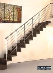 scala-a-sbalzo-in-legno-e-ringhiera-acciaio (Roversiscale) Tags: scale ...