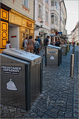 Selective waste management in Ljubljana (Stefan Cioata) Tags: beautiful photography photo image sale great stock best explore getty top10 available outstanding flickrandroidapp:filter=none