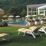 Liegewiese in Bad Kleinkirchheim, Thermenhotel Ronacher