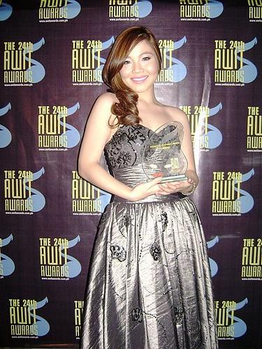 Sabrina at Awit Awards