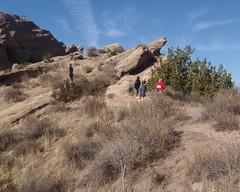027 The End Of A Long Leg (saschmitz_earthlink_net) Tags: california orienteering aguadulce vasquezrocks 2011 laoc losangelesorienteeringclub