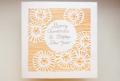 Merry Christmas and Happy New Year (k.dmitrijewa) Tags: christmas white paper stars handmade  papercutting    pennyjey