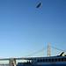 Airship overhead