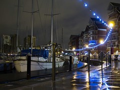 Wet Night On The Waterfront (Racing Toast) Tags: wet night suffolk ipswich salthouse neptunequay ipswichwaterfront racingtoast