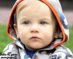 innocent (Zaina Al-Sanea) Tags: blue portrait baby photography eyes child innocence zaina alsane alsanea