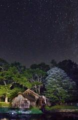 Mabry Mill Under the Stars (curtisWarwick) Tags: blue trees night way stars landscape long exposure va milky brp