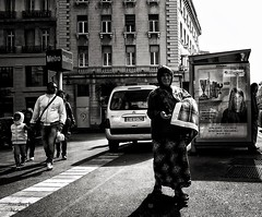 roma woman on Old Port  Marseille France (Le Xuan-Cung) Tags: family autumn people urban woman sun man fall daylight seaside lightsandshadows nikon noiretblanc streetshots streetphotography streetlife streetscene nb ctedazur busstop sw noon oldport drama contrejour bigcity vieuxport sunnyday southernfrance bouchesdurhne polfilter urbanshots livinginfrance nikond1h circularfilter lightsanddarks romawoman mediterraneanbasin urbanmarseille peopleatthesea livinginbouchesdurhne provencealppesctedazur livinginprovencealppesctedazur livinginmarseille livinginctedazur livinginmediterraneanbasin livinginsouthernfrance attheedgeofsociety