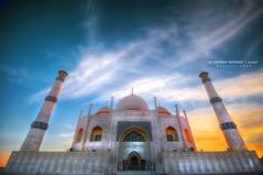 Alzahraa Mosque [HDR] (Hussain Shah.) Tags: nikon sigma mosque kuwait 1020mm hdr shah hussain alzahraa 5exposures d300s