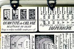 Le Posographe Detail - 1 (baldheretic) Tags: computer photography exposure mechanical antique pda calculator lightmeter steampunk posograph