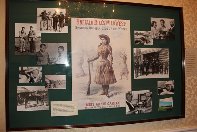 ANNIE OAKLEY visited the Hotel for many years