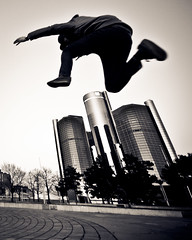 Twisted Reality (D.Maitland) Tags: jump air detroit parkour hops whitemencanjump ninjajump