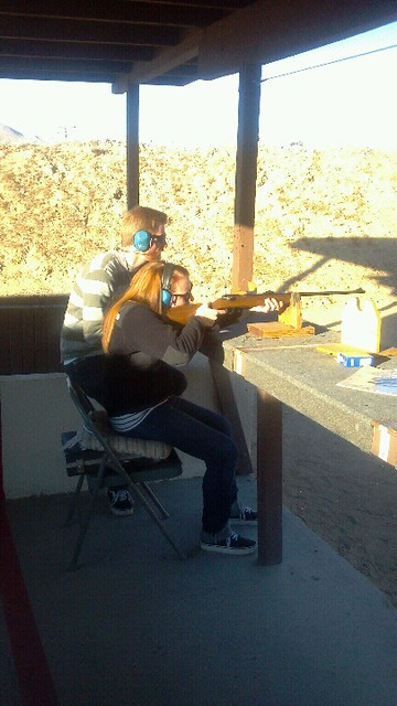 Rachel at the Range