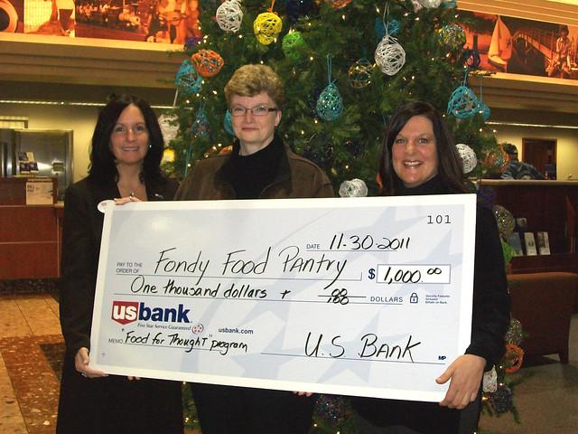 US Bank and Food Pantry