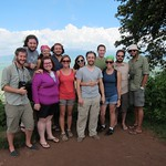 "The Group on at a Crater Viewpoint <a style=""margin-left:10px; font-size:0.8em;"" href=""http://www.flickr.com/photos/14315427@N00/6592091317/"" target=""_blank"">@flickr</a>"