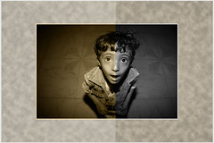 Yemeni kid 3 (gamalmorisi) Tags: school portrait smile face photography kid eyes child sad young middleeast peaceful arab revolution 7d yemen cry  yemeni              arabspring