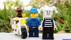 Day 364 (chrisofpie) Tags: chris pie monkey lego doug legos hero heroes minifig roger minifigure bluehat legohero chrisofpie rogeranddoug 365legos dougthechimp
