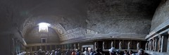Pompeii baths (SpirosK photography) Tags: panorama heritage stitch baths pompeii pompei microsoftice archeologicalspace archaeologicalspace