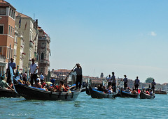 Traffic Jam on the Grand Canal