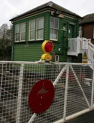 LEVEL CROSSING (Adam Swaine) Tags: county uk england green english beautiful rural canon countryside wooden kent village britain railway villages east signalbox counties levelcrossing naturelovers 2011 24105mm thisphotorocks adamswaine wwwadamswainecouk kentishvillages