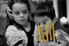 waiting to light the Hanukkiah II (lifeinmyzoo) Tags: christmas family holiday hanukkah hanukkiah xmas11