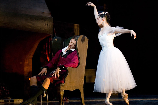 "Tamara Rojo with Rupert Pennefather in George Balanchine's La Sylphide. The Royal Ballet season 2005/06 <a href=""http://www.roh.org.uk/whatson/production.aspx?pid=18556"" rel=""nofollow"">www.roh.org.uk/whatson/production.aspx?pid=18556</a> Photo by Johan Persson"