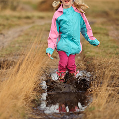 Some things are just meant to be (Simon Vogt) Tags: puddle nikon mud sigma splash muddy donttellyourmother