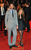 Hugo Taylor and guest War Horse - UK film premiere held at the Odeon Leicester Square - Arrivals. London, England